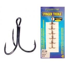 Stinger Treble ST 36 Black  Tubertini